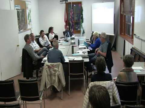 Eagle Cliff Water System Information Meeting - 09 Oct 2019