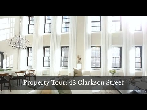 Property Tour: West Village Trophy Triplex at 43 Clarkson St