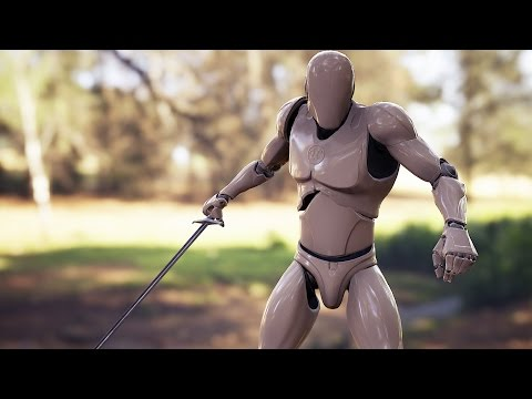 [UE4 - WIP] Multiplayer Melee Combat System - Preview