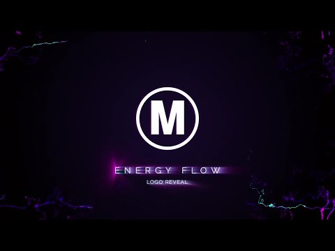 Energy Flow Logo Reveal After Effects Templates