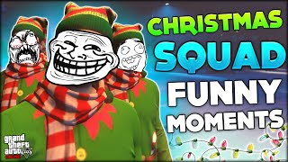 CHRISTMAS SPECIAL - TROLLING, SNOWBALL FIGHT, DOUBLE'S RUINED DAY (GTA 5 Funny Moments)