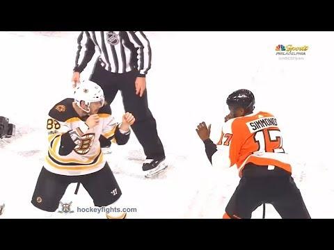 Kevan Miller vs Wayne Simmonds Dec 2, 2017