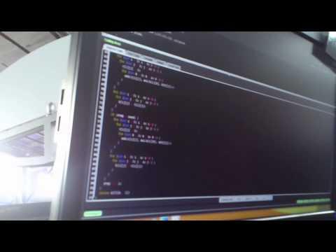 tourist coding screen