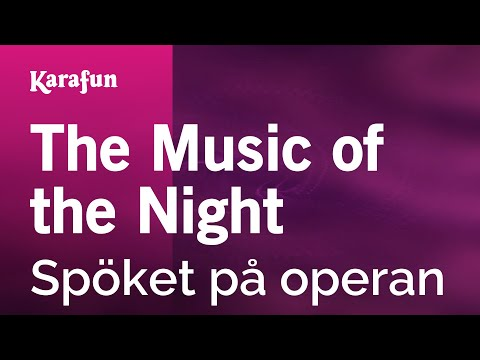 Karaoke The Music Of The Night - The Phantom Of The Opera *