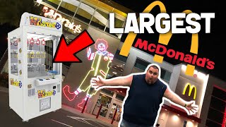 Winning From KEYMASTER At The WORLDS LARGEST MCDONALDS!!! (Epic McDonalds Orlando Florida )