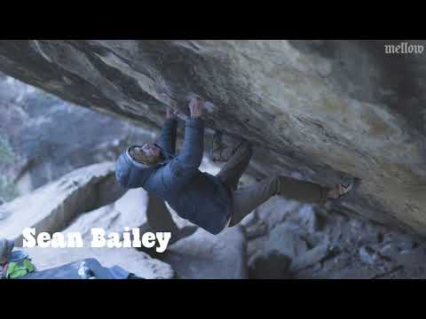 Sean Bailey on the 2nd Ascent of Pegasus (Font 8C), Joe's Valley