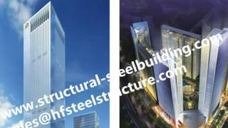 Low, medium and high rise multi-storey concrete and steel buildings by China construction company