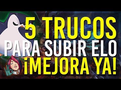 """LOS """"5"""" TRUCOS QUE TE AYUDARÁN A GANAR EN LEAGUE OF LEGENDS. COMO SALIR DE BRONCE, PLATA, ORO... S9 thumbnail"""