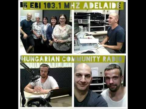 Magyar Közösségi Rádió Adelaide 2017 03 19 Czár László,  Düh Gergely
