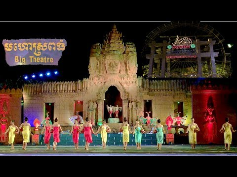 The Great Khmer King Jayavarman VII Show |The Cambodian Cultural Village in Siem Reap