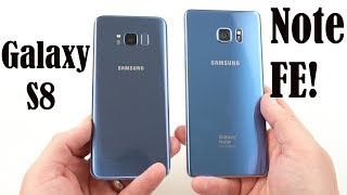 Galaxy Note FE Coral Blue Unboxing: Designed better than S8/Note 8?