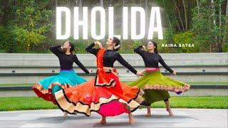 DHOLIDA Navratri Dance Cover   Naina Batra   Loveyatri