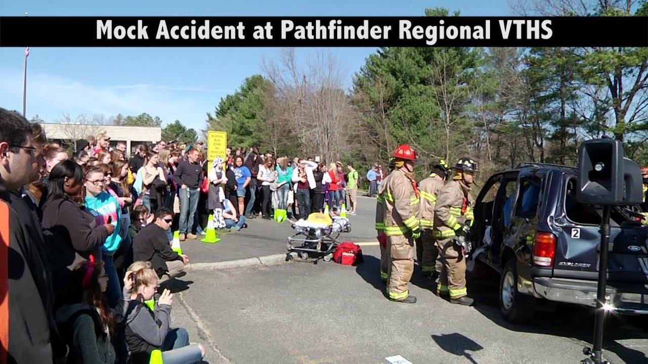 Pathfinder Regional VTHS Accident Reenactment - YouTube