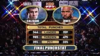Roy Jones vs Joe Calzaghe Highlights - 8/11/2008