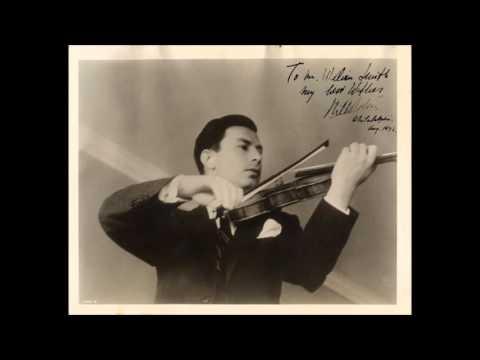 Mendelssohn - Violin concerto - Milstein / NYP / Walter