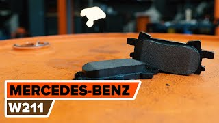 Kako zamenjati Zavorne Ploščice MERCEDES-BENZ E-CLASS (W211) - spletni brezplačni video
