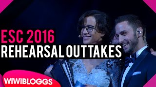 Eurovision 2016: Rehearsal outtakes, bloopers, behind the scenes | wiwibloggs