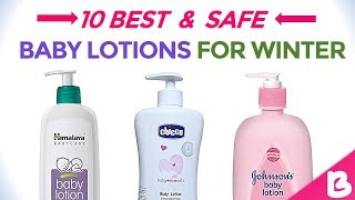 10 Best Baby Body Lotions for Winter | Daily Moisturizing Lotions for Kids