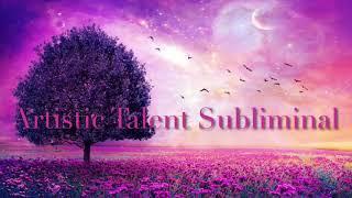 Artistic Talent Subliminal