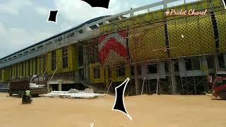 RENOVASI Stadion JATIDIRI SEMARANG yang bila rampung akan Megah,mewah Wow!!!