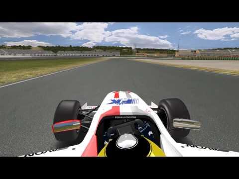 rFactor Formula 2 2009 Lap at Valencia*