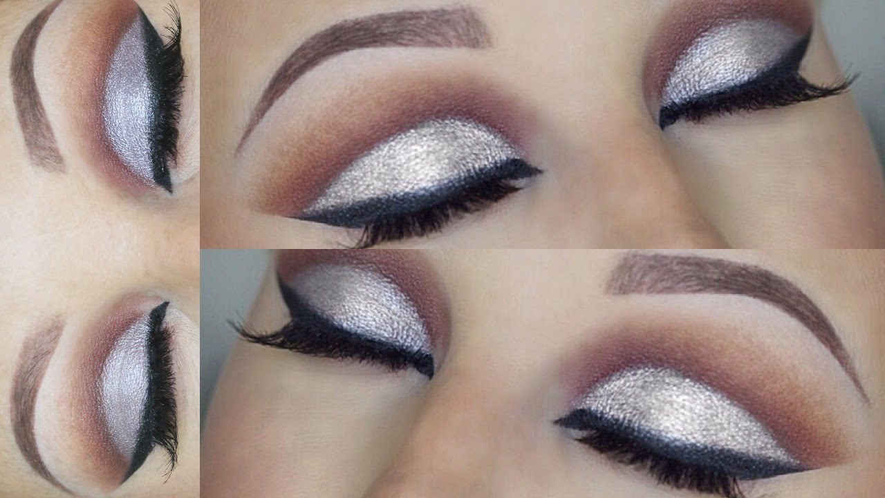 Dramatic Cut Crease Makeup Tutorial Hooded Eyes Youtube
