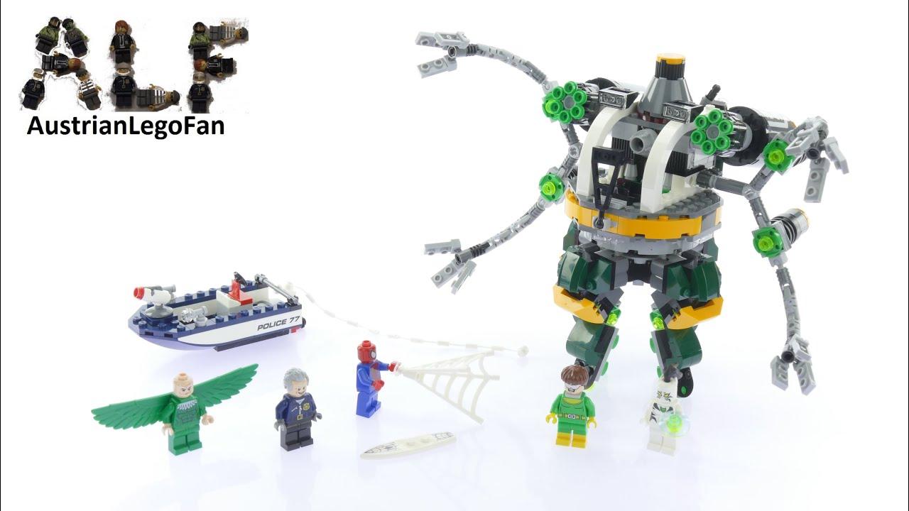 Lego Super Heroes Spider Man Doc Ock s Tentacle Trap Lego