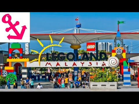[FULL HD] Visit Legoland Malaysia Theme Park and Water Park
