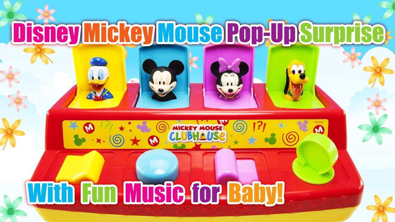 Mickey Mouse Clubhouse Pop Up Pop Up Surprise Disney Baby Toys