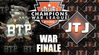 WAR FINALE! BOSTONTEAPARTY VS JTJ - Clash of Clans