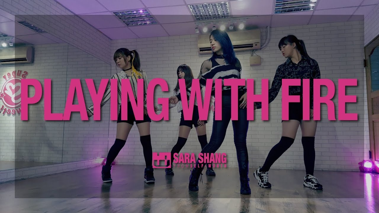Blackpink 불장난 Playing With Fire Dance Practice Cover By Sara Shang Super Sweet Students