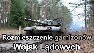 Rozmieszczenie garnizonów Wojsk Lądowych (Komentarz) #gdziewojsko