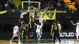 Highlights Obras Basket 91 - 75 Weber Bahia (08-05-2018)