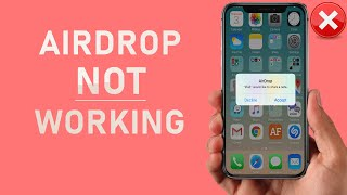 How To Fix AirĎrop Not Working / Not Showing - iOS 14