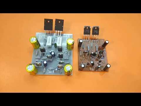 amplifier circuit using 2sc5200 and 2sa1943, amplifier circuit using