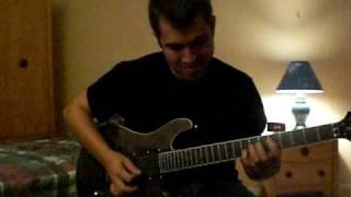 Chicago Bulls Introduction Theme Song....On Guitar!!! And Guitar Delay Lesson!