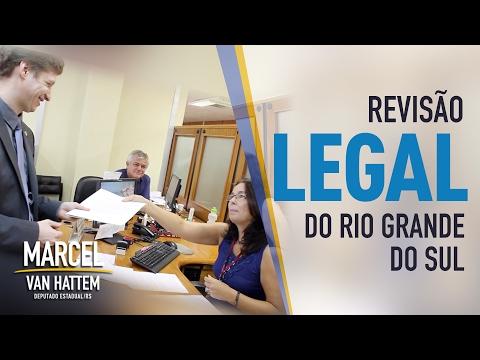 Protocolo pedindo criação de comissão especial para revisão legal do Rio Grande do Sul