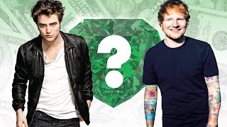 WHO'S RICHER? - Robert Pattinson or Ed Sheeran? - Net Worth Revealed!