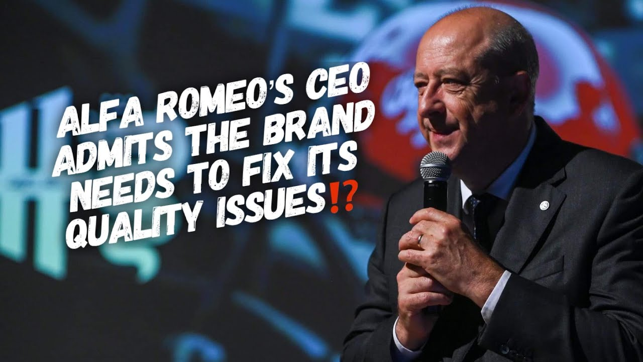Alfa Romeo Fans UPSET At CEO For Saying The Brand Has Quality Problems