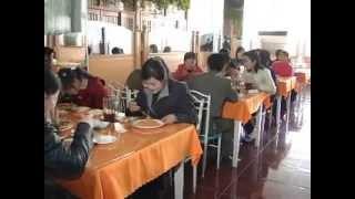 Ресторан итальянской кухни в Пхеньяне (КНДР).