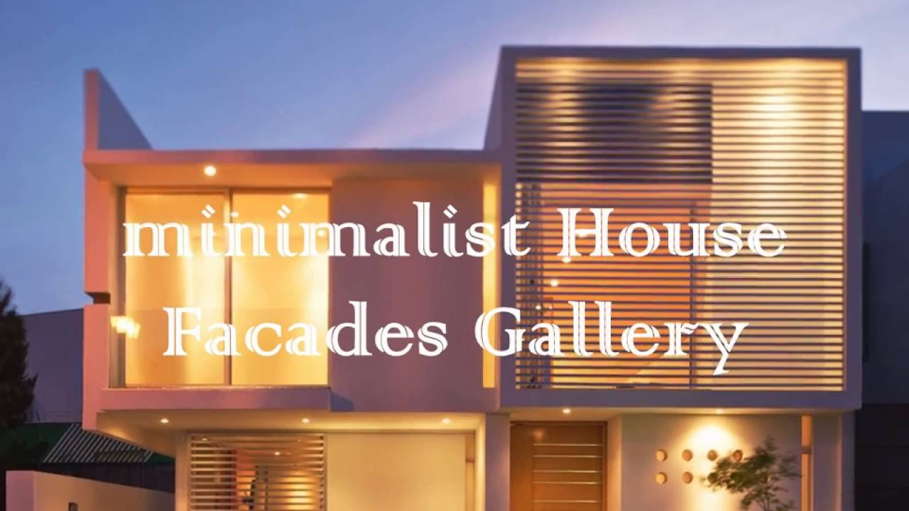 Nice compilation contemporary house facades youtube for Nice house music
