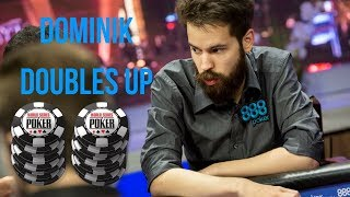 Dominik's Hand Analysis at the High Roller for One Drop