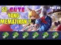 B O D CHALLENGE SI IMUT NANA SOLO RANKED MYTHIC PART  2