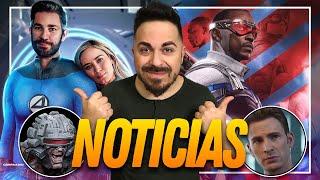 🔥VAYA BOMBAZOS🔥 Capitán América 4, Steve vuelve, Zeus, Spider-Man a Disney + y mucho más