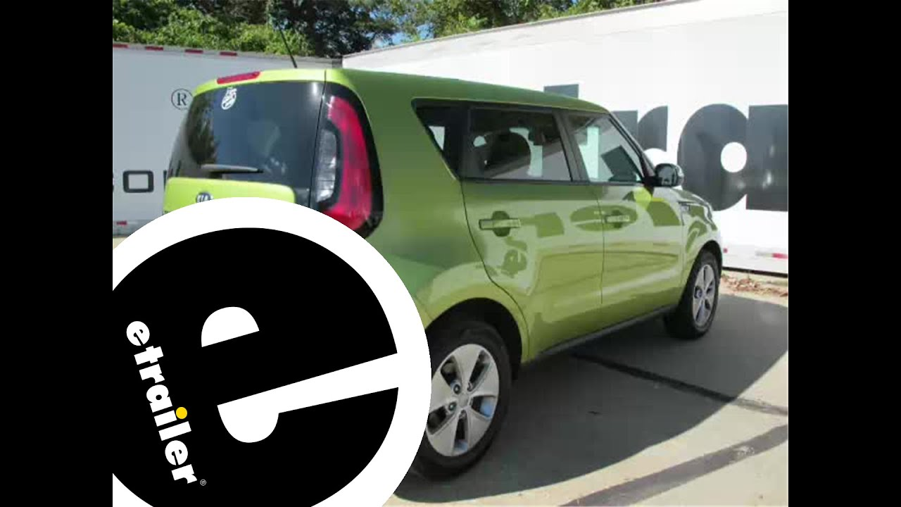 Trailer Hitch Installation 2014 Kia Soul DrawTite etrailer