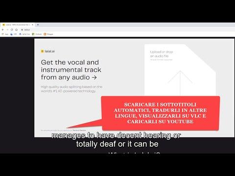 Come scaricare i sottotitoli automatici, tradurli e aggiungerli ai video di Youtube