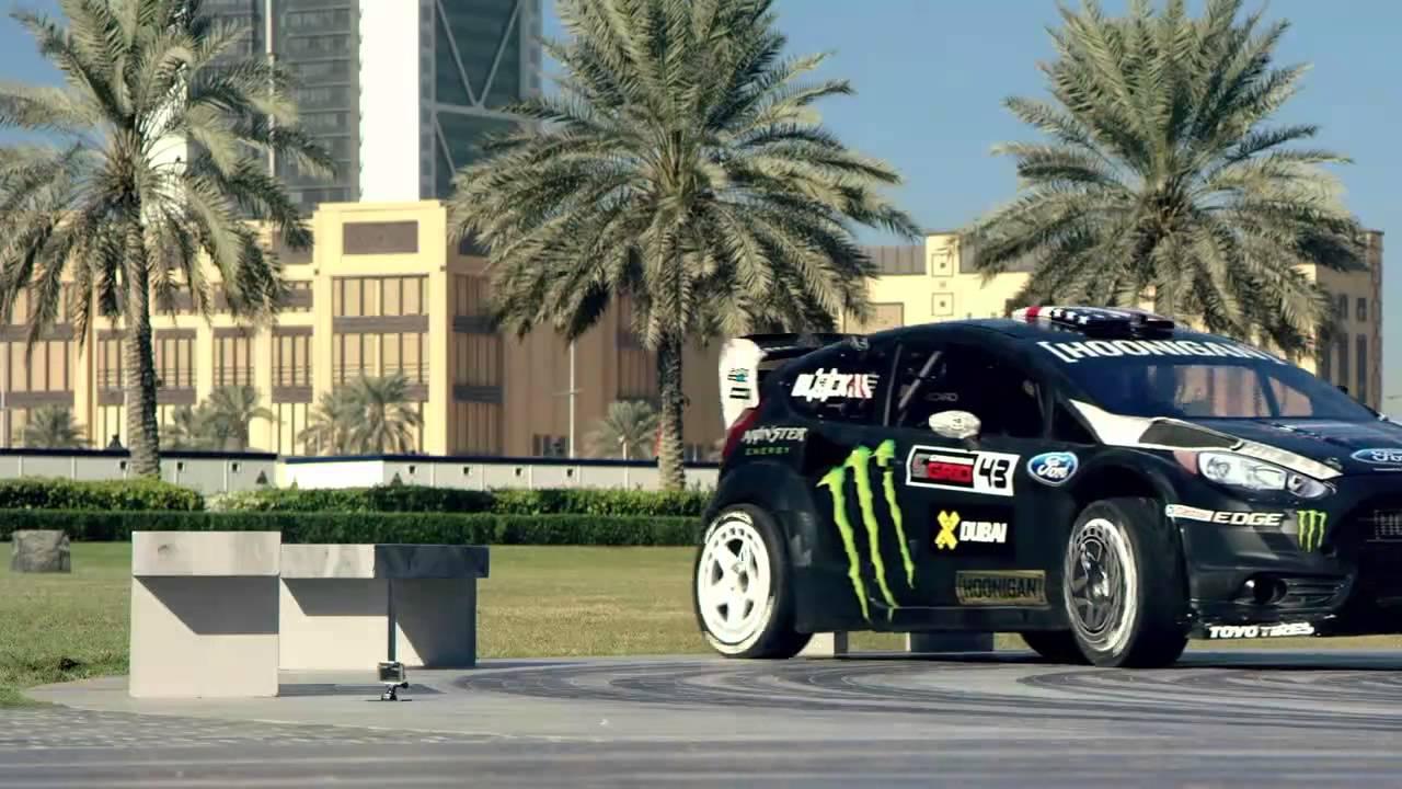 Epic: Rally Driver Ken Block Rips Through Dubai, Drifting Around ...