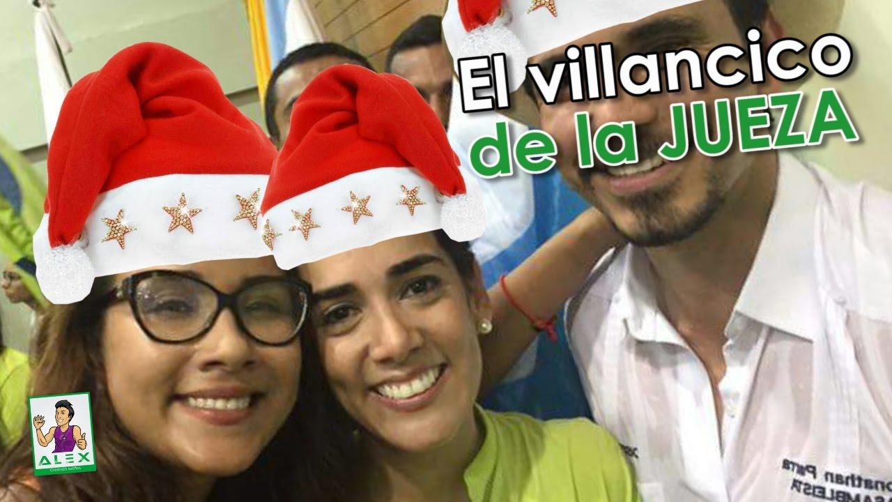 La navidad y los villancicos de la EX JUEZA COLLANTES LOOR Y LOS MANDARINAS / ANB