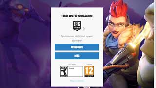 How to download and Install Fortnite for Kids ( PC/Windows 7/8/10)