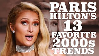 Paris hilton breaks down her favorite 2000s trends | w magazine